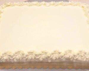 Qtr Sheet Cake