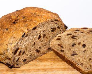 Raisin Pumpernickel Bread
